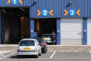 Some MOT testing centres in Northern Ireland are fully booked for over two months