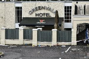 Plans to demolish tragedy-hit Greenvale Hotel in Cookstown.