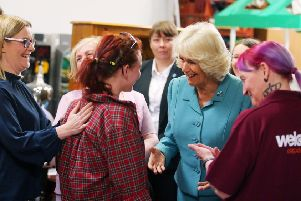Camilla visits the Welcome Organisation in May
