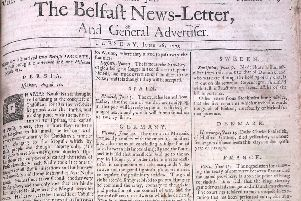 The News Letter of June 26 1739 (July 7 in the modern calendar)