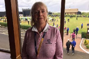 Lady captain Liz McCartney