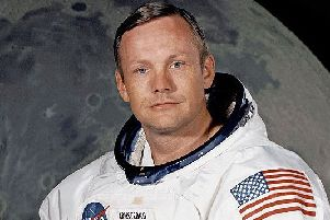 American astronaut and aeronautical engineer Neil Armstrong was the first person to walk on the moon