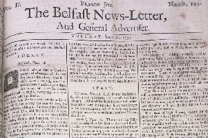 The Belfast News Letter of July 10 1739 (July 21 in the modern calendar)