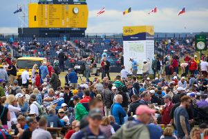 Almost 240,000 spectators attended The Open at Royal Portrush