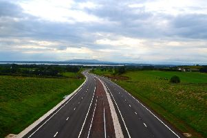 A6 dual carriageway from Ballynafey bridge