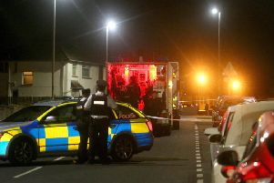 Police are currently in the Drumtarsey Road area of Coleraine following a report of a suspicious object in the area this evening. The Drumtarsey Road is currently closed in both directions & a number of properties have been evacuated. There are no further details at this stage.PICTURE KEVIN MCAULEY/MCAULEY MULTIMEDIA