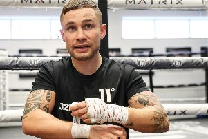 Carl Frampton. Pic by PA.