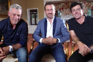 Darren Clarke, Graeme McDowell and Rory McIlroy are being nominated for the freedom of Causeway Coast and Glens Council