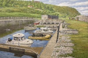 Louis Humphrey's painting of Whiteharbour.