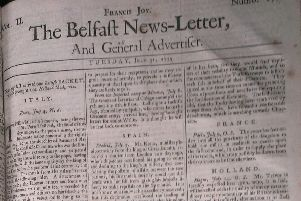 The Belfast News Letter of July 31 1739 (August 10 in the modern calendar)