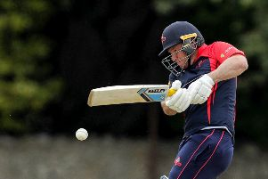 Northern Knights' Gary Wilson batting. Credit �INPHO/Laszlo Geczo