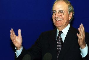 US Senator George Mitchell, the architect of the Good Friday Agreement. Photo by Stephen Wilson, Pacemaker.