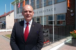 Iain Carlisle, chief executive of the Grand Orange Lodge of Ireland