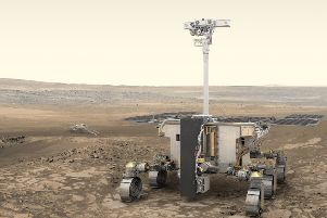 An ExoMars Rover will carry out experiments on Mars in 2021 with the help of research from Ulster University in Coleraine. Photo credit: ESA