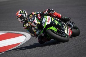 Jonathan Rea led all the way to win Saturday's opening World Superbike race at Portimao in Portugal.