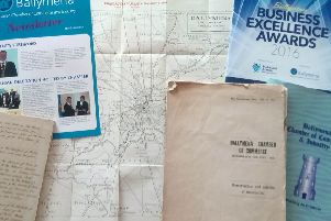 A selection of documents over the years from Ballymena Chamber of Commerce