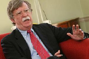 John Bolton, former security adviser to the President of the United States of America, Donald Trump.