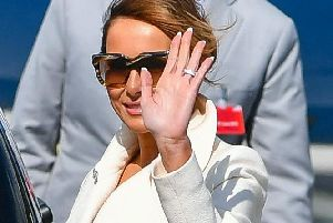 First Lady of the United States of America, Melania Trump, pictured during a visit to the Republic of Ireland in May 2019. (Photo: Pacemaker)