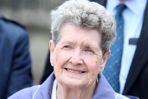 Bea Worton, who at 88, won legal challenges against both the Equality Commission and Newry Mourne and Down District Council over a council playground named after a man she believed murdered her son. Photo: Jonathan Porter/PressEye
