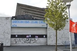 Sinn Fein wants to erect bilingual signage at two west Belfast leisure centres, including Andersonstown