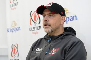 Ulster Head Coach Dan McFarland. Picture By: Arthur Allison/Pacemaker Press
