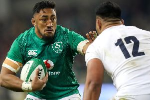 Bundee Aki is being tipped to lead from the front for Ireland against Samoa.
