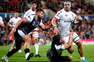 Ulster captain Rob Herring is expecting a much better performance in South Africa today.