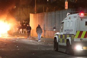 Christopher Gillen is accused of throwing at least six petrol bombs on the night Lyra McKee was shot dead