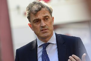 Julian Smith MP, Secretary of State for Northern Ireland. Pic: Arthur Allison/Pacemaker Press