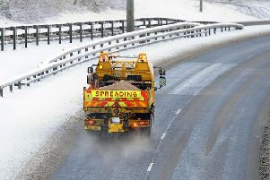 Some parts of Northern Ireland will see snow this weekend.