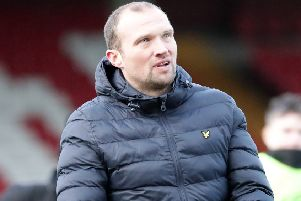 Ards manager Warren Feeney. Pic by Pacemaker.
