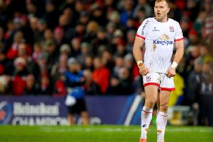 Ulster's Will Addison has been banned for four weeks after being cited for an incident against Clermont.