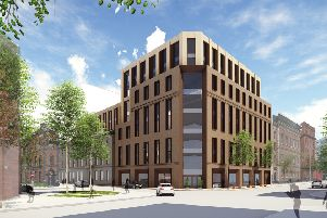 An image of the redevelopment at Linen Quarter in Belfast.