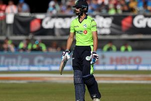James Shannon produced a brilliant innings against India in 2018
