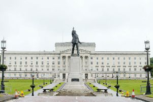 The devastating 1995 fire in parliament Buildings destroyed the old Commons Chamber. It was subsequently repaired and is now the Assembly chamber.