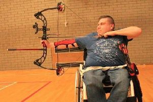 Archery has been a passion of Tim Webb's for the past seven years