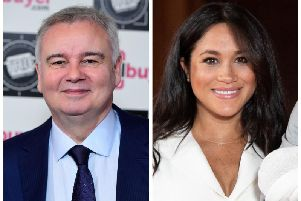 Eamonn Holmes and the Duchess of Sussex, Meghan Markle.