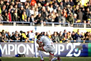 Ulster's Jacob Stockdale pictured at the end of the game. Credit �INPHO/Dan Sheridan