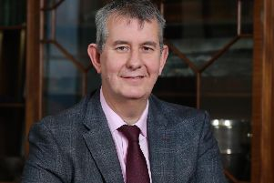 Press Eye - Belfast - Northern Ireland - 11th January 2020 -  ''Edwin Poots at Parliament Buildings, Stormont.''Photo by Kelvin Boyes  / Press Eye.