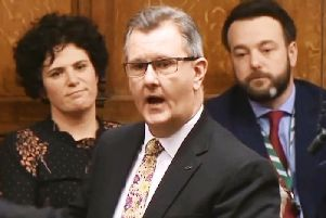 Jeffrey Donaldson says the deal removes the 'incentive' of a snap election for anyone that collapses the Executive.