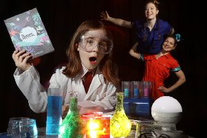 NI Science Festival announces the launch of its 2020 programme at the Crescent Arts Festival, featuring Strong Women Science. The duo will be performing at the festival on 18 February. Pictured Katie Harrison aged 9.