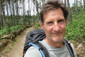 Dermot Breen on his 1,000 km walk along the Camino de Santiago in Spain in memory of his wife Jacqui