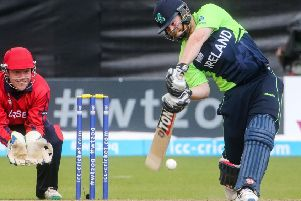 Paul Stirling blasted a brilliant 115 but Armagh were not impressed