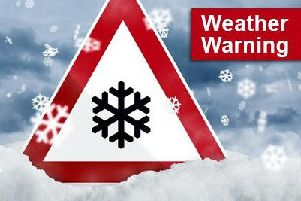 The Met Office issued the weather warning on Wednesday morning.
