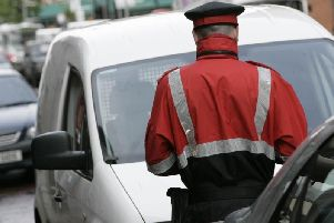 Over 600 parking tickets issued in Newtownabbey