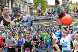 Images from the 2018 Belfast City Marathon