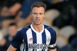 Jonny Evans looks set to make the switch from West Brom to Leicester City