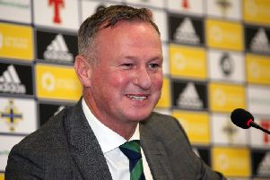 Northern Ireland's Michael O'Neill
