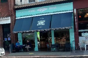 The Ashers Baking Company shop in Belfast.