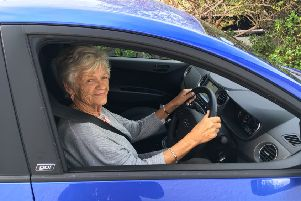Pat Martin, 80, has been campioning road safety most of her adult life. She never did a driving test, but considers herself 'a careful driver'.